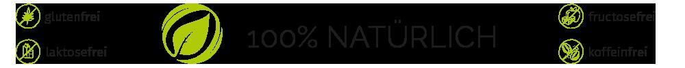 Cortidor® Icon Qualitätsmerkmale - glutenfrei, laktosefrei, fructosefrei, koffeinfrei
