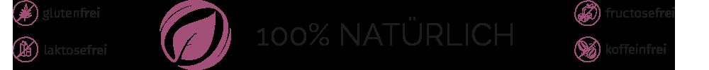 Cortidor® Family Icon Qualitätsmerkmale - glutenfrei, laktosefrei, fructosefrei, koffeinfrei